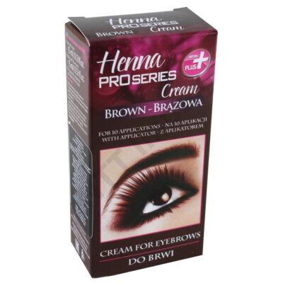 VRN0016DRKZ Henna-krémfesték szemöldök barna