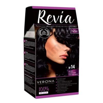 VRN0085DRHH Revia Hajfesték 50+50+20ml N14