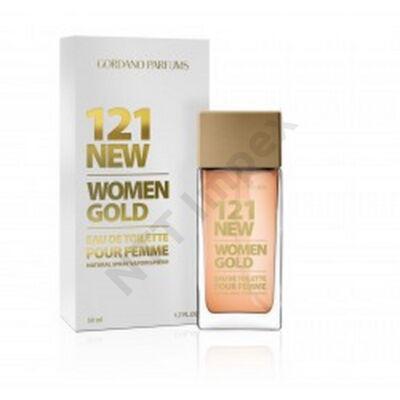 RVR0265PRNO GORDANO  PARFUM 50ml 121 NEW WOMEN GOLD 76
