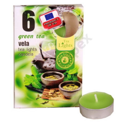 ADM7454GYIL Teamécses illatos A6 6db-os GREEN TEA
