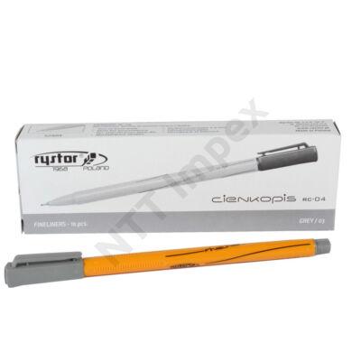 RST1432PIID Filctoll Fineliner  RC-04-3 Szürke 10db-os