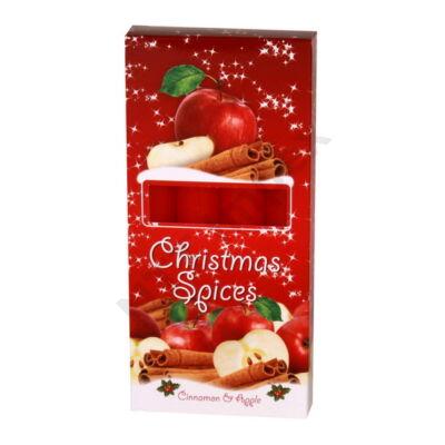 BRT7984GYKA Illatos gyertya 21x170mm Christmas Spice Alma/Fahéj