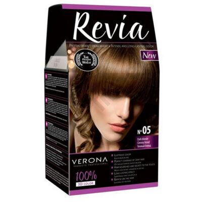 VRN5740DRHH Revia Hajfesték 50+50+20ml N05