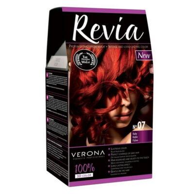 VRN5742DRHH Revia Hajfesték 50+50+20ml N07
