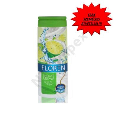 FLR2270DRTA Floren tusfürdő 300ml - Lime&Joghurt