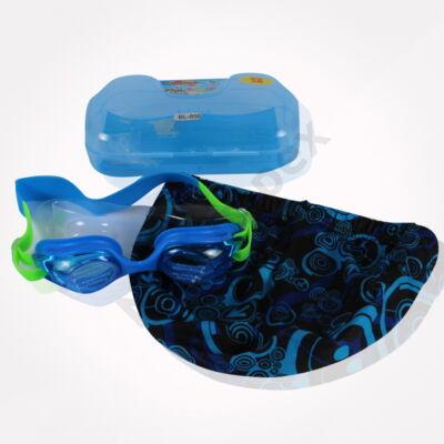 HKC6745JAVZ Úszó szett sapka+szemüveg+füldugó