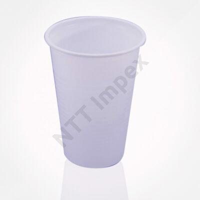 LLO8212FEED X.Műanyag pohár 2dl. Fehér (100db/cs)