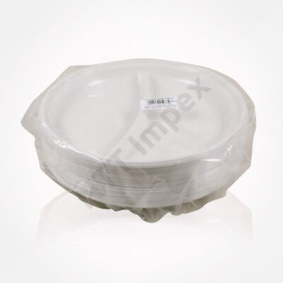 LLO5077FEED Műanyag lapos tányér 214-es 2 rész.(50db/cs)