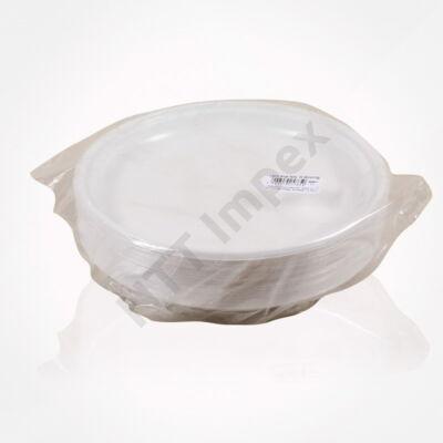 LLO5765FEED Műanyag lapos tányér 214-es akció (magyar) 50db