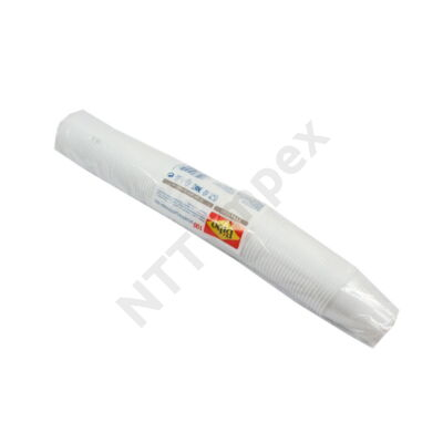 LLO0501FEED Műanyag pohár 1,66dl. Fehér (100db/cs)