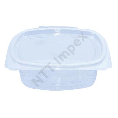 LLO9207FEED Egybefedeles doboz, víztiszta(500 ml-es) 50db/cs