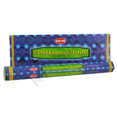 HEM1162FSHD HEM Füstölő 20db x 6 cs/dob. FRANKINCENSE- MYRRH