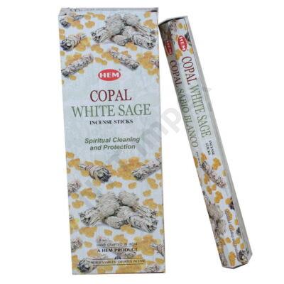 HEM1836FSHD HEM Füstölő 20db x 6 cs/dob. COPAL WHITE SAGE