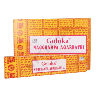 GLK3102FSLD GOLOKA NAGCHAMPA AGARBATHI 12db/doboz